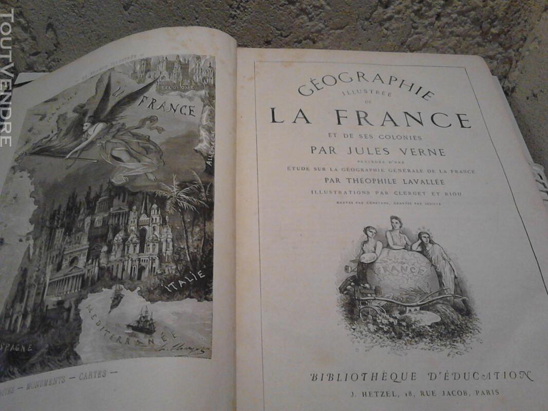 Ancien/Collection Géographie de La France Jules Verne suxn 165044784
