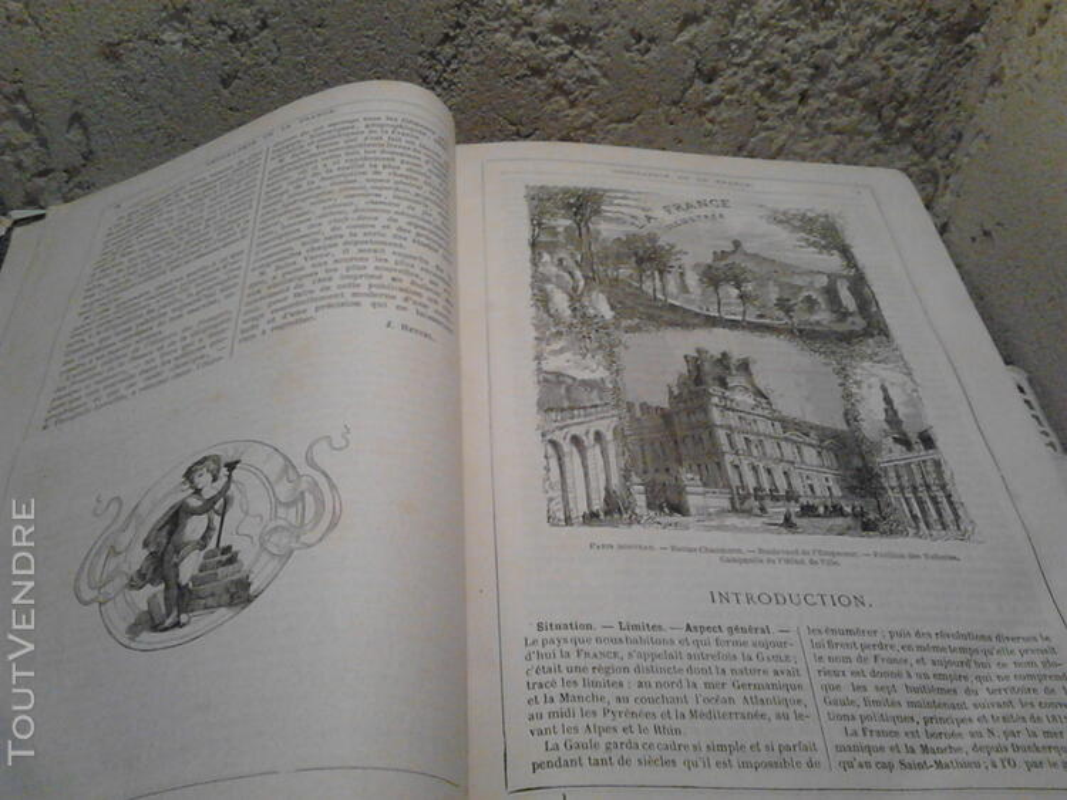 Ancien/Collection Géographie de La France Jules Verne suxn 165044790