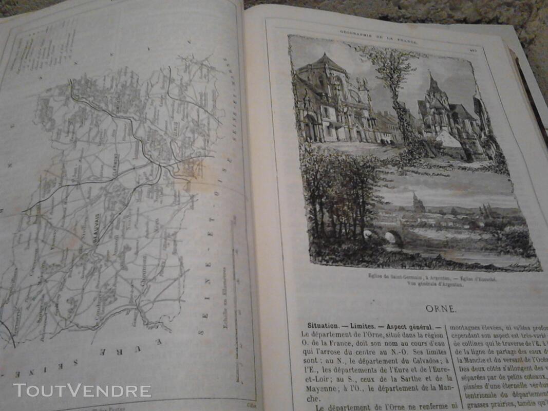 Ancien/Collection Géographie de La France Jules Verne suxn 165044793