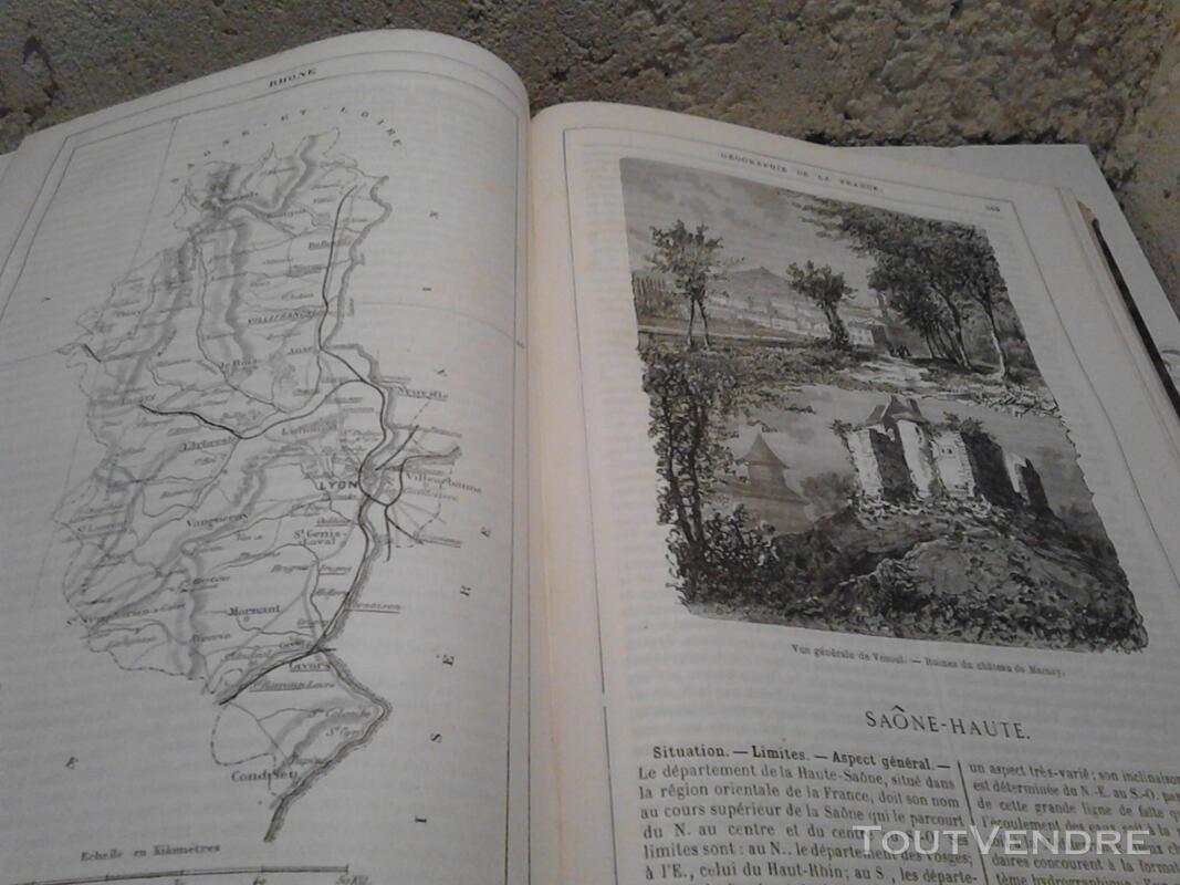 Ancien/Collection Géographie de La France Jules Verne suxn 165044796