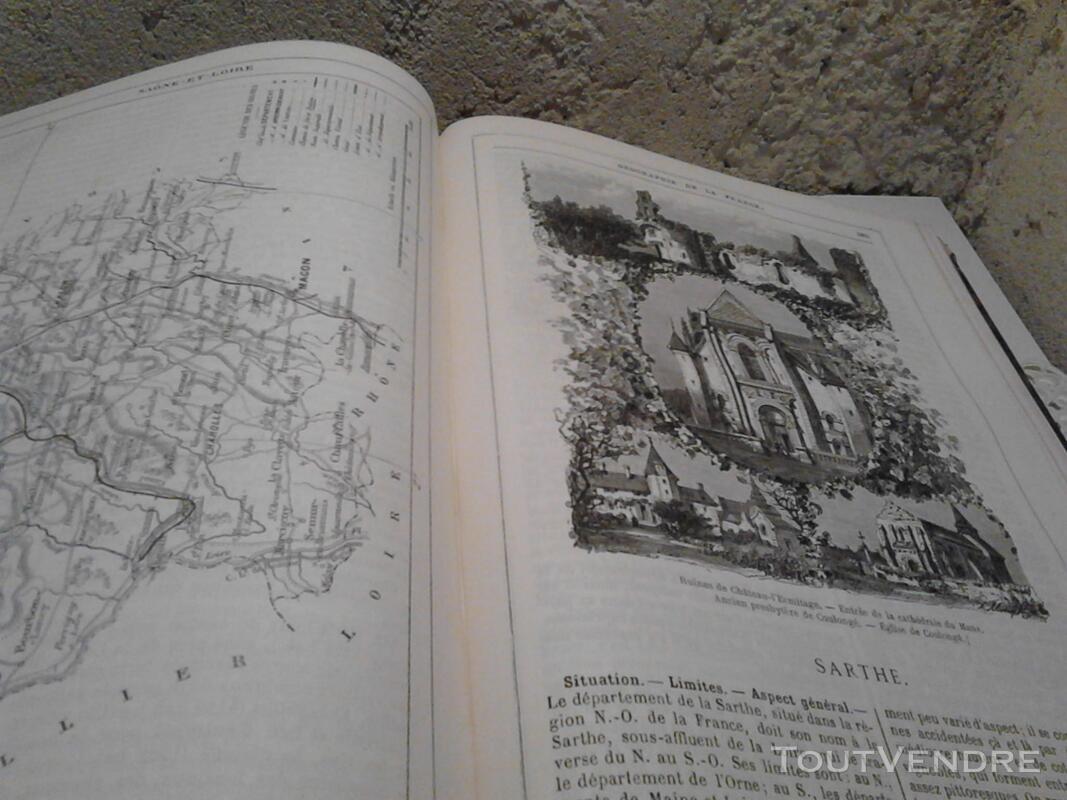 Ancien/Collection Géographie de La France Jules Verne suxn 165044799