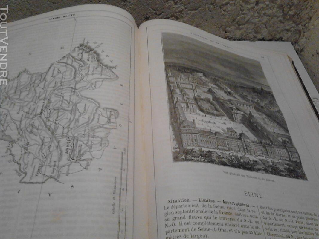 Ancien/Collection Géographie de La France Jules Verne suxn 165044802