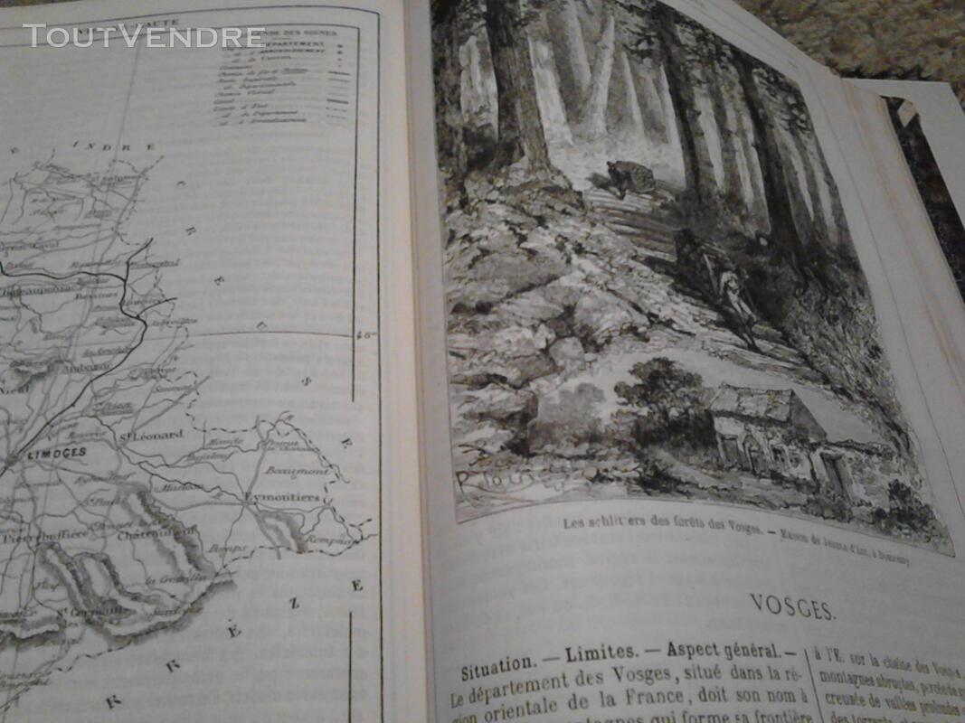 Ancien/Collection Géographie de La France Jules Verne suxn 165044805