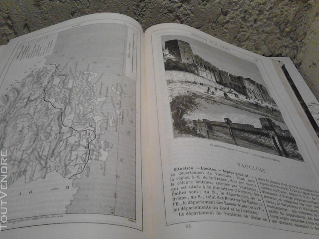 Ancien/Collection Géographie de La France Jules Verne suxn 165044808