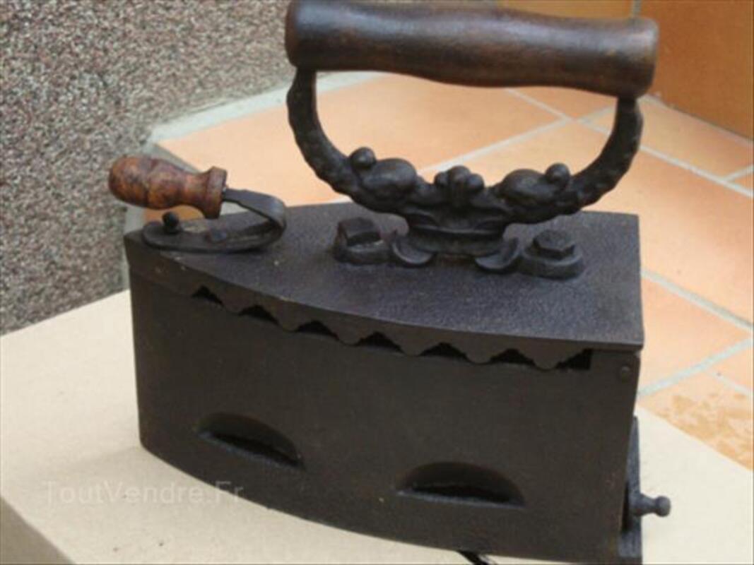 Ancien fer à braise 87343645