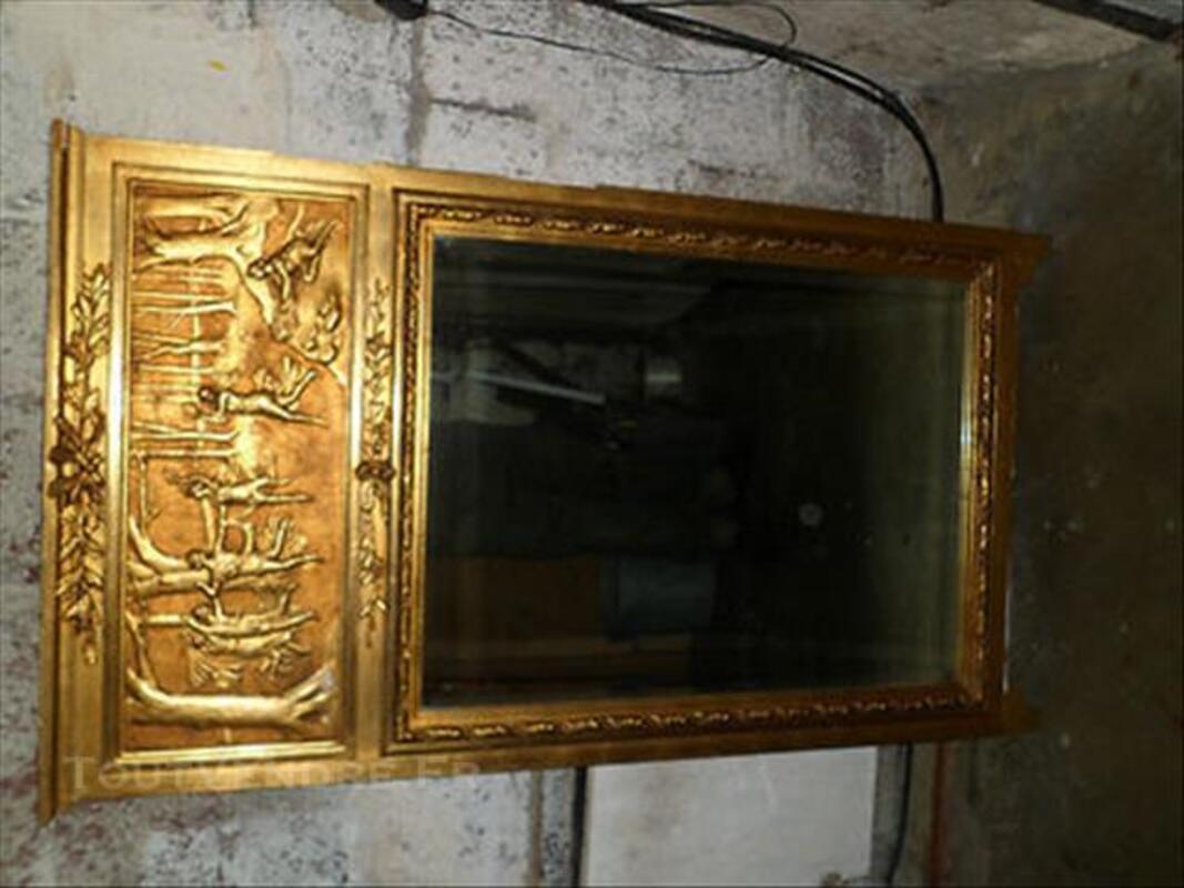 Ancien grand miroir trumeau style louis xiv fin xix eme 85993173