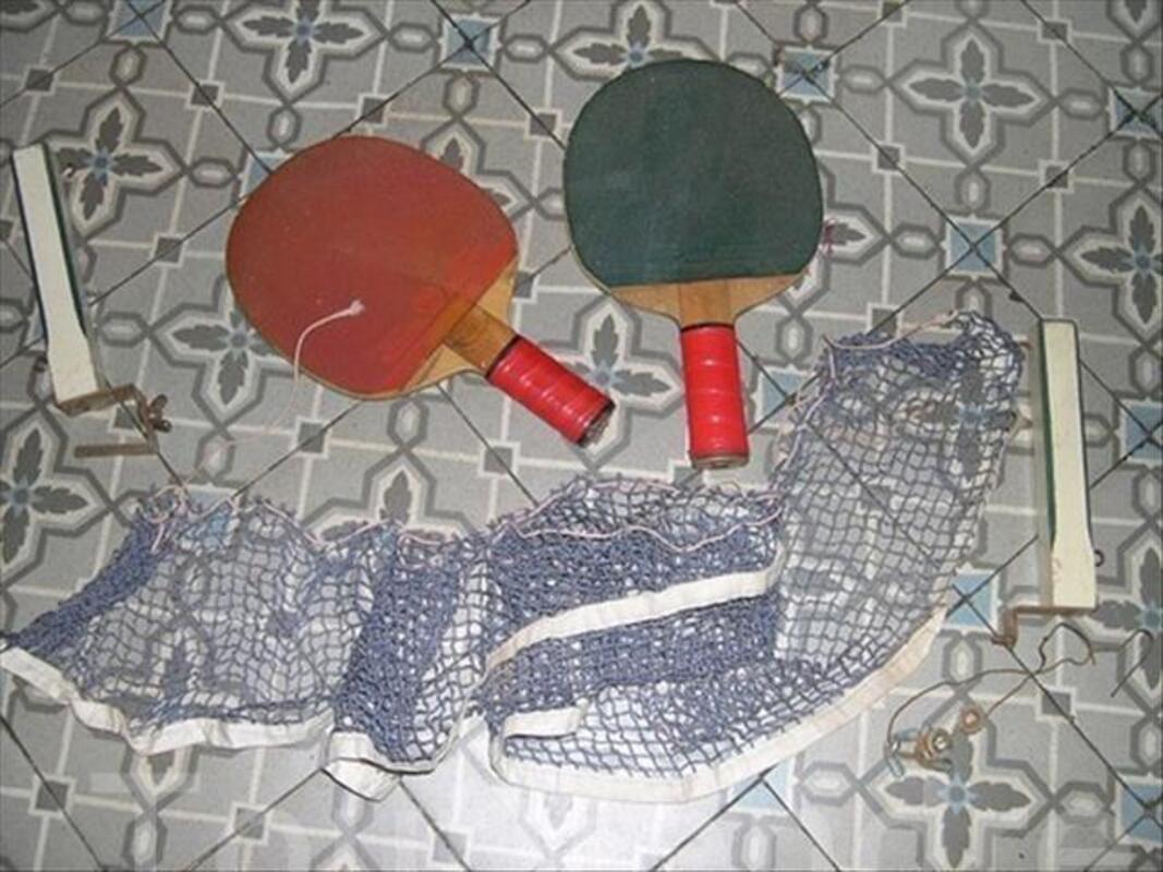 Ancien jeu de tennis de table REX en boite 88110486