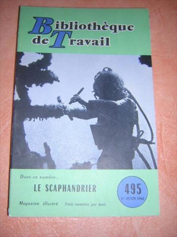 Ancien livre SCAPHANDRE SCAPHANDRIER plongée équipement 85879753