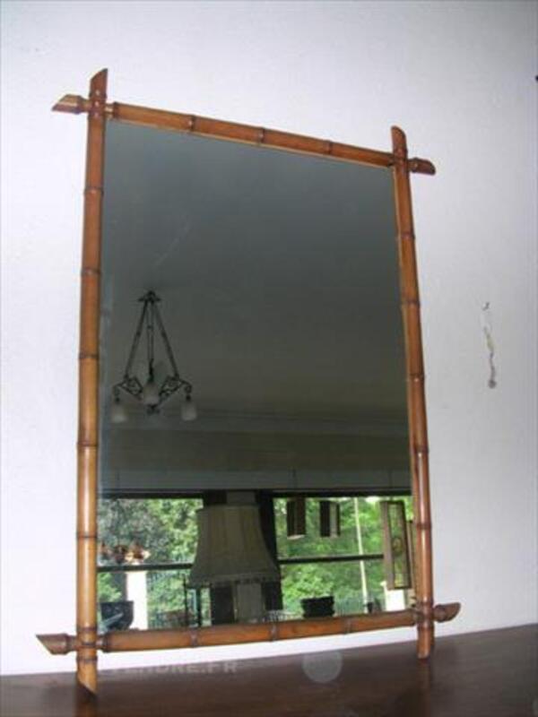 Ancien miroir, style bambou 85707526