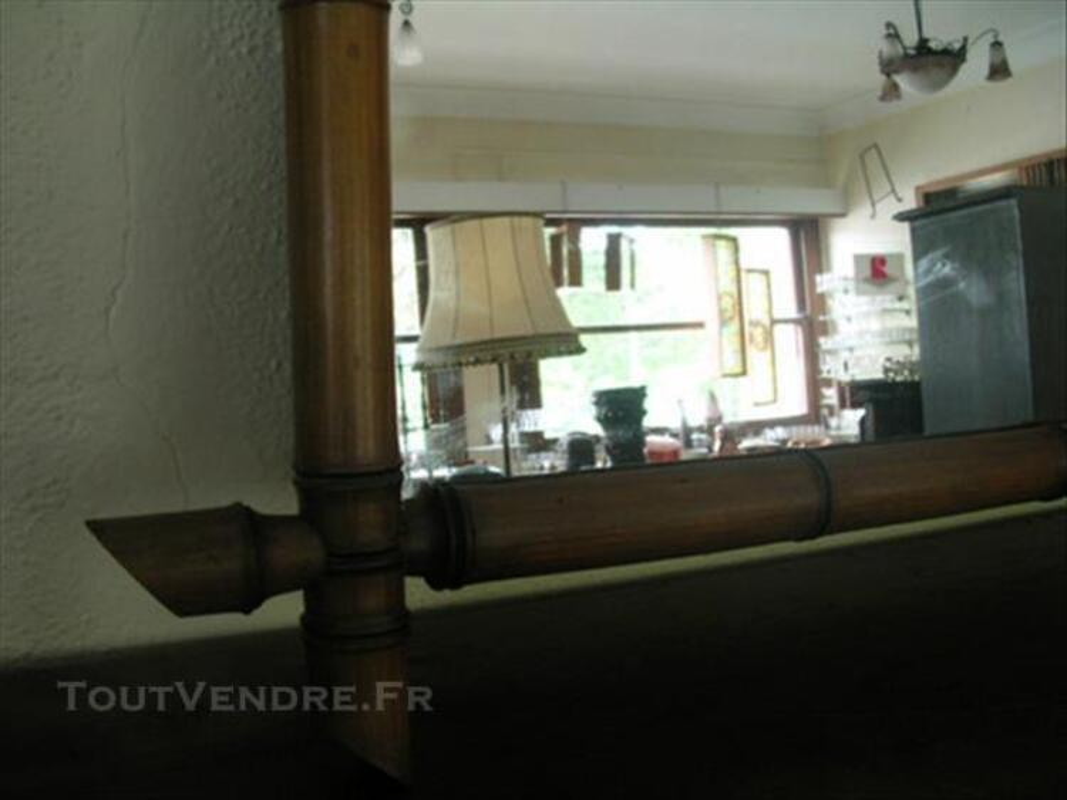 Ancien miroir, style bambou 85707527