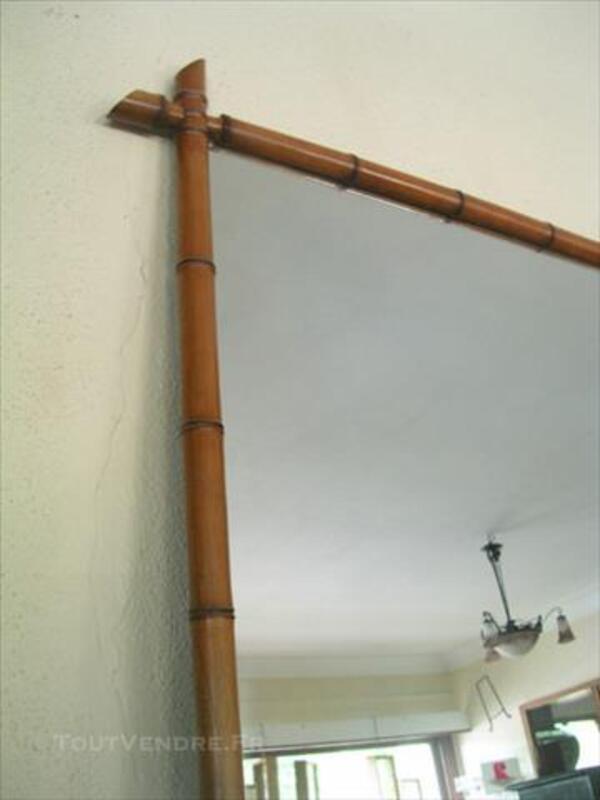 Ancien miroir, style bambou 85707528