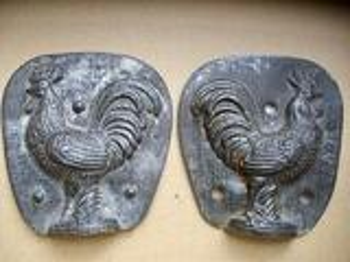ANCIEN MOULE A CHOCOLAT COQ n°1215