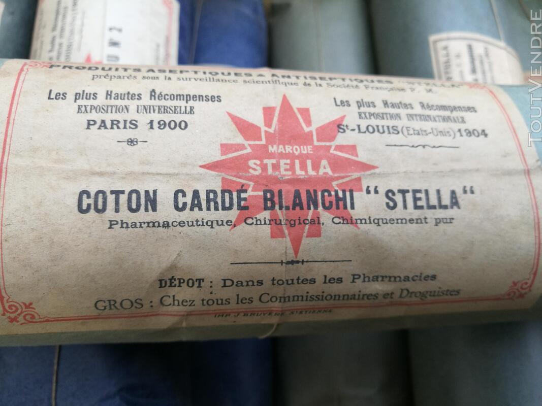 Ancien Paquet de Coton STELLA Pharmacie/Droguerie suxn 295551827