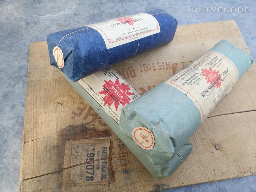 Ancien Paquet de Coton STELLA Pharmacie/Droguerie suxn 295553015