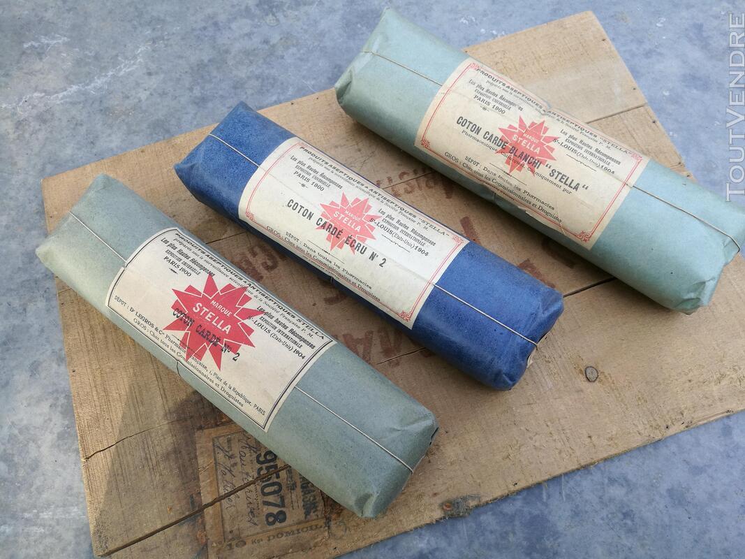 Ancien Paquet de Coton STELLA Pharmacie/Droguerie suxn 295553222