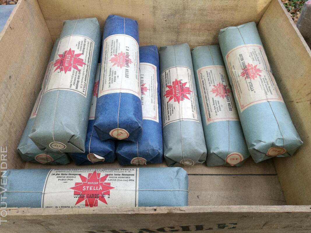 Ancien Paquet de Coton STELLA Pharmacie/Droguerie suxn 295553351