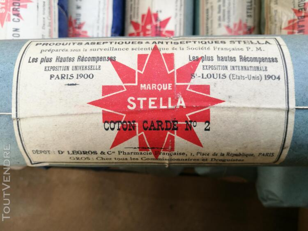 Ancien Paquet de Coton STELLA Pharmacie/Droguerie suxn 295553570