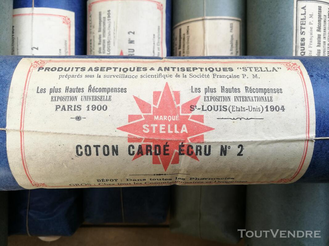 Ancien Paquet de Coton STELLA Pharmacie/Droguerie suxn 295553573
