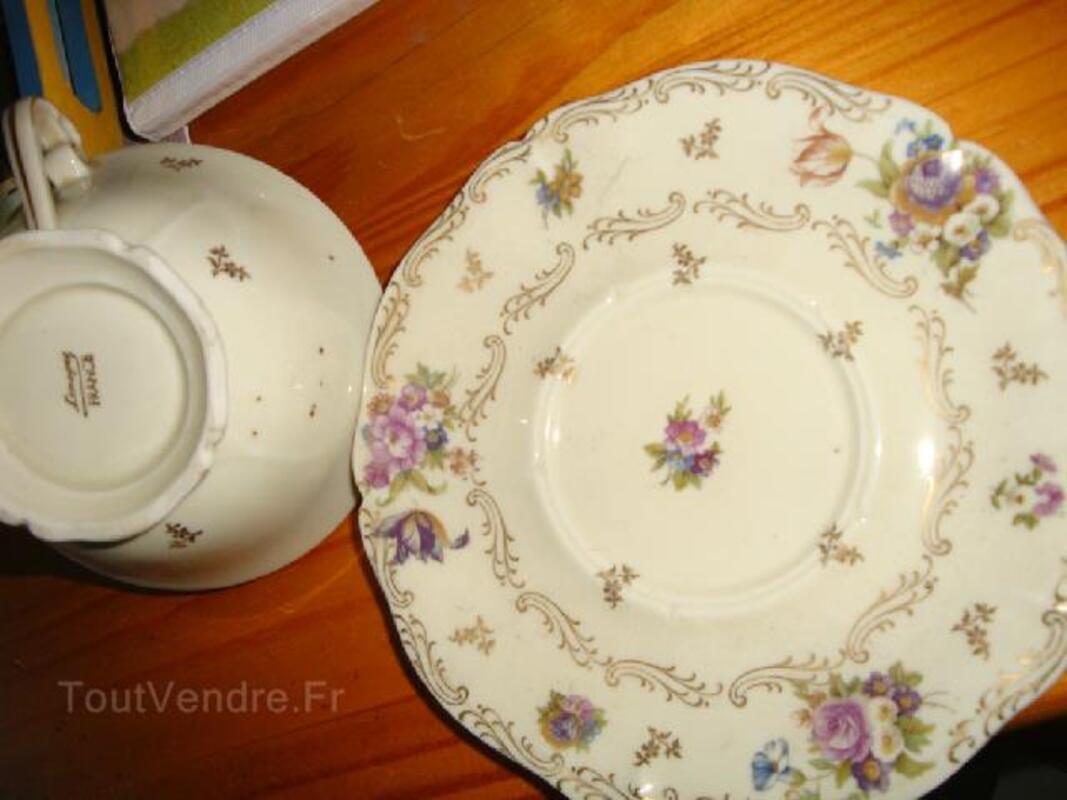 Ancien petit déjeuner porcelaine de Limoges fine 102502132