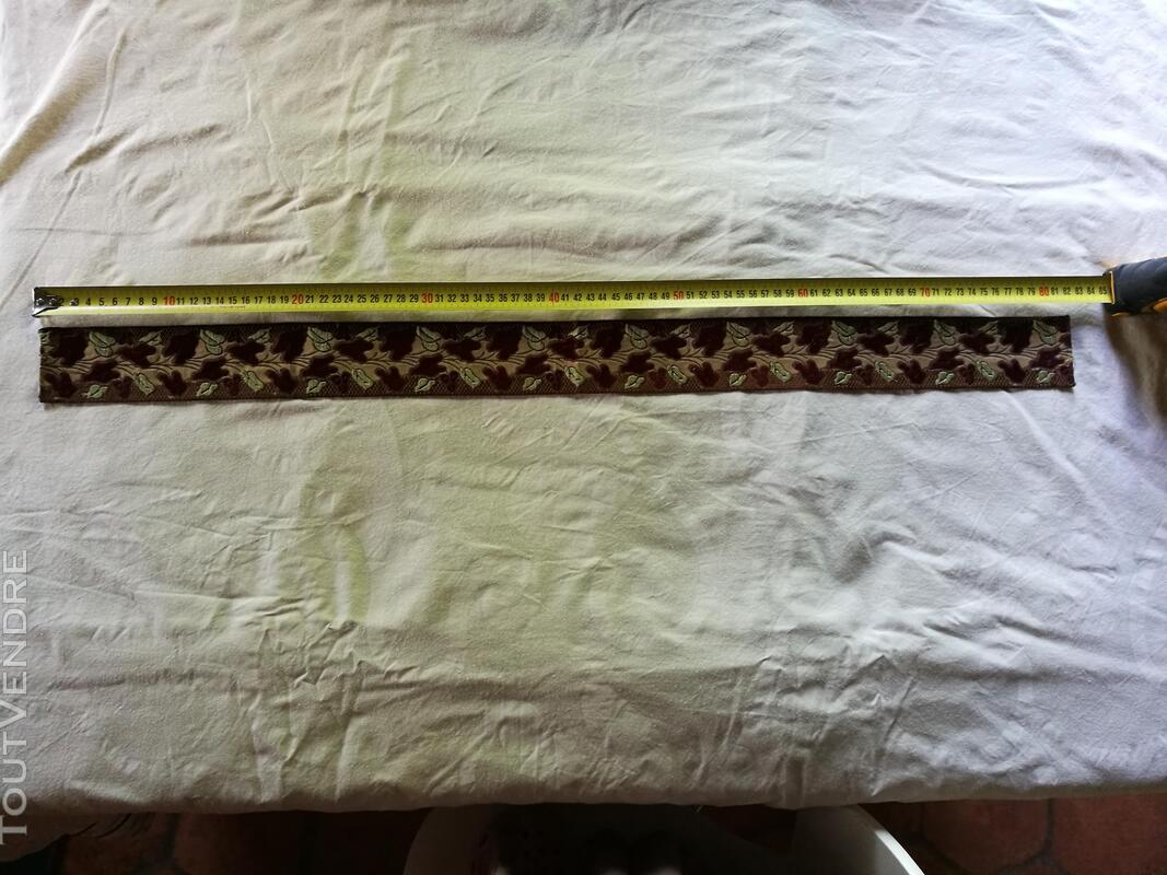Ancien Ruban/Galon Velours Soie Art Nouveau suxn 360452489