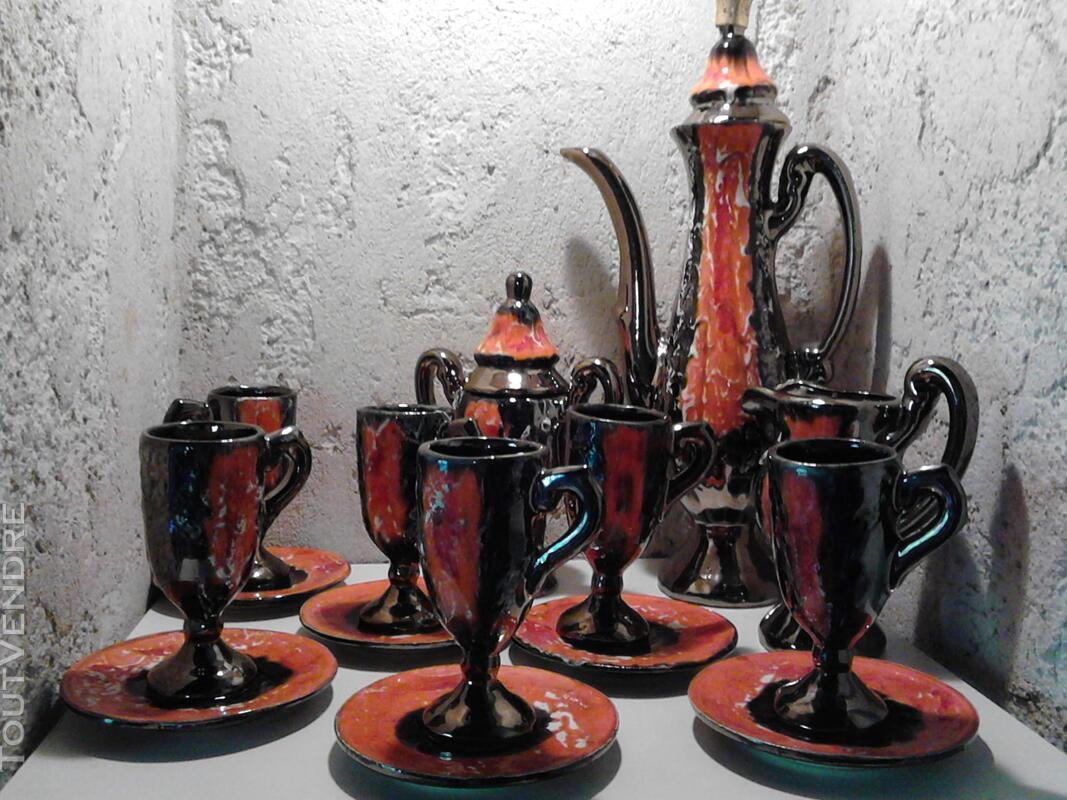 Ancien Service à Café Vallauris Vintage années 1950 suxn 276537039