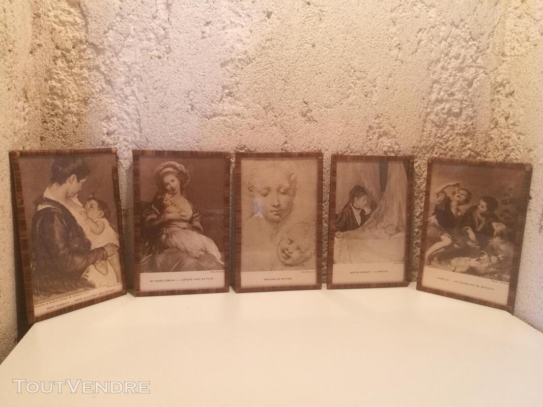 Ancien Sous-Verre Sépia Collection suxn 337740115