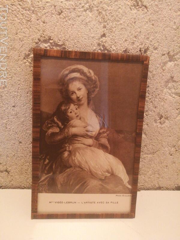 Ancien Sous-Verre Sépia Collection suxn 337740130