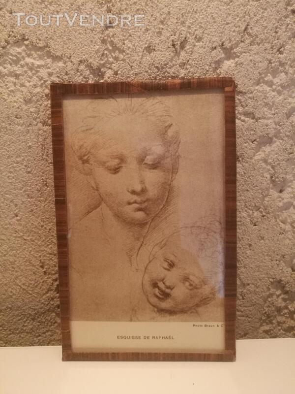 Ancien Sous-Verre Sépia Collection suxn 337740148