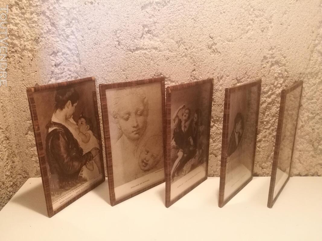 Ancien Sous-Verre Sépia Collection suxn 337740172