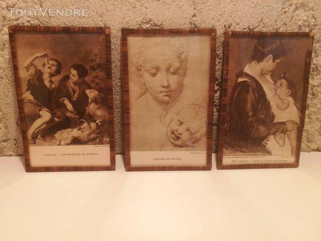 Ancien Sous-Verre Sépia Collection suxn 337740178