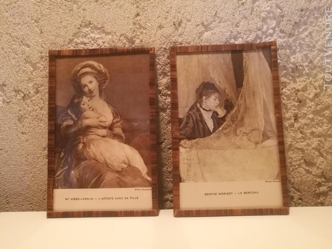 Ancien Sous-Verre Sépia Collection suxn 337740181