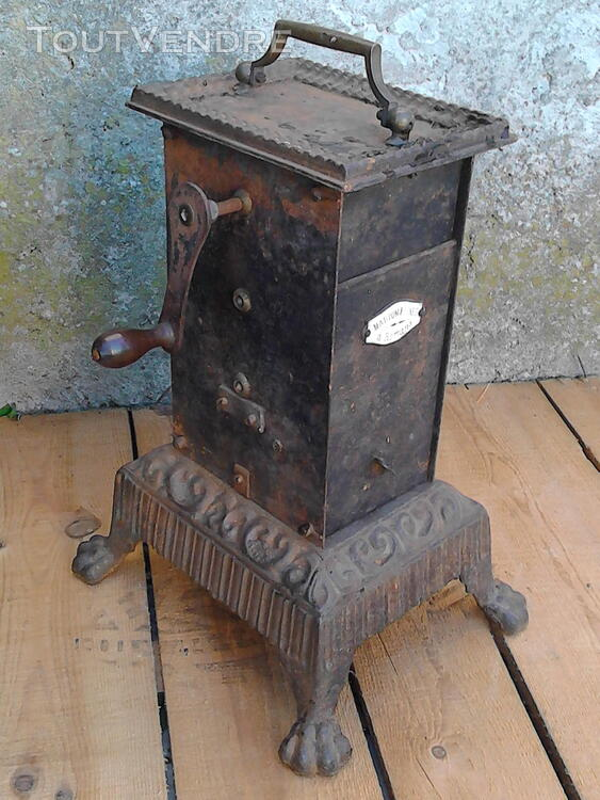 Ancien Tourne Broche dit Capucin cheminée 19ème Siècle suxn 195772960