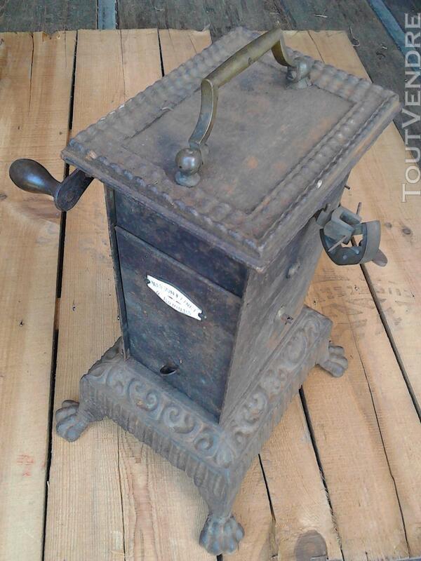 Ancien Tourne Broche dit Capucin cheminée 19ème Siècle suxn 195772966