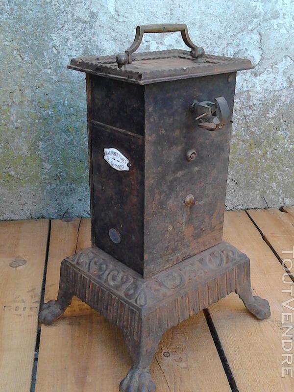 Ancien Tourne Broche dit Capucin cheminée 19ème Siècle suxn 195772972