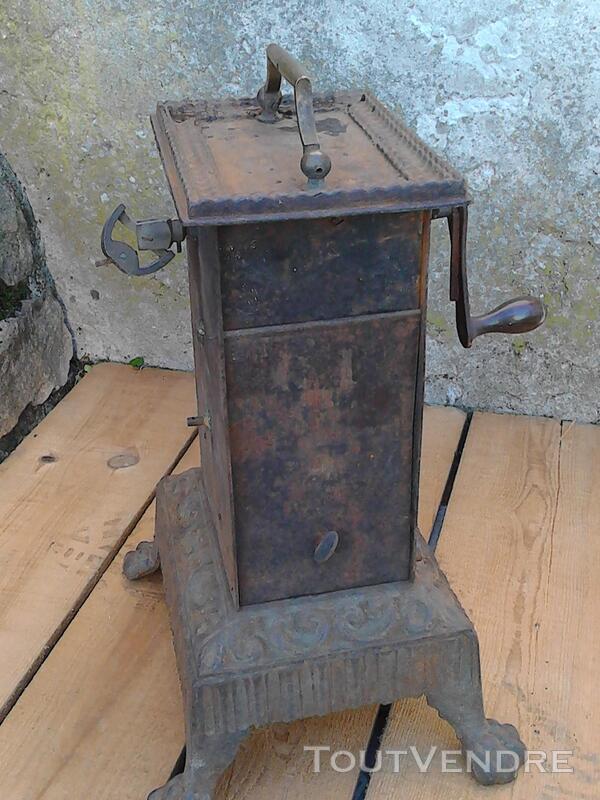 Ancien Tourne Broche dit Capucin cheminée 19ème Siècle suxn 195772975