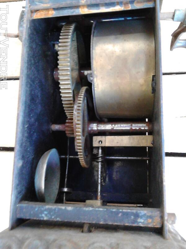 Ancien Tourne Broche dit Capucin cheminée 19ème Siècle suxn 195772987