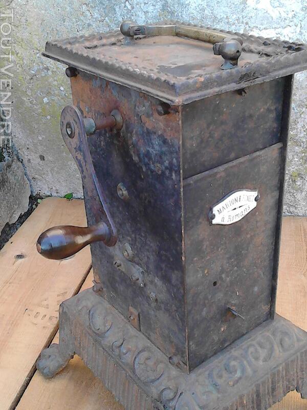 Ancien Tourne Broche dit Capucin cheminée 19ème Siècle suxn 195772990