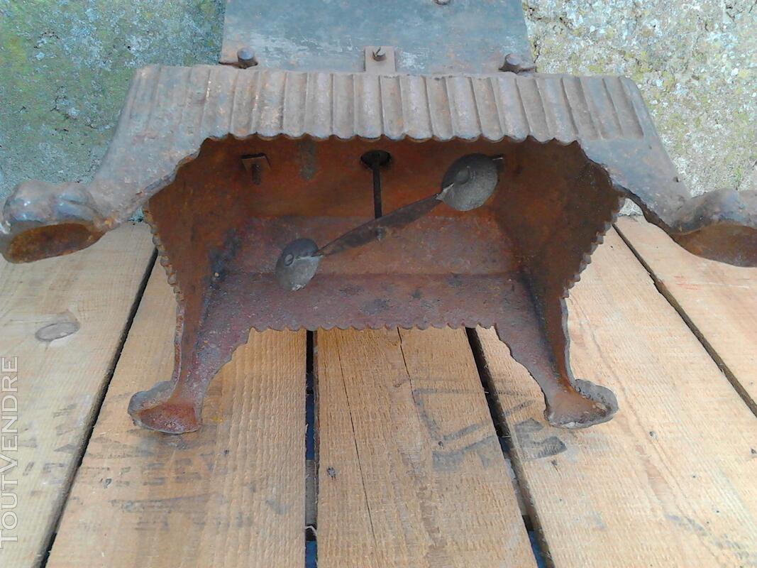 Ancien Tourne Broche dit Capucin cheminée 19ème Siècle suxn 195772993