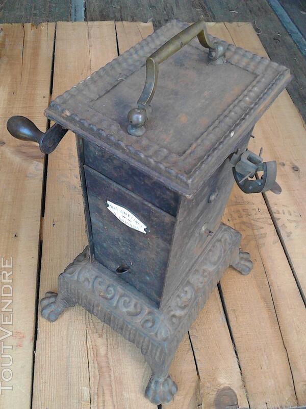 Ancien Tourne Broche dit Capucin cheminée 19ème Siècle suxn 195772999
