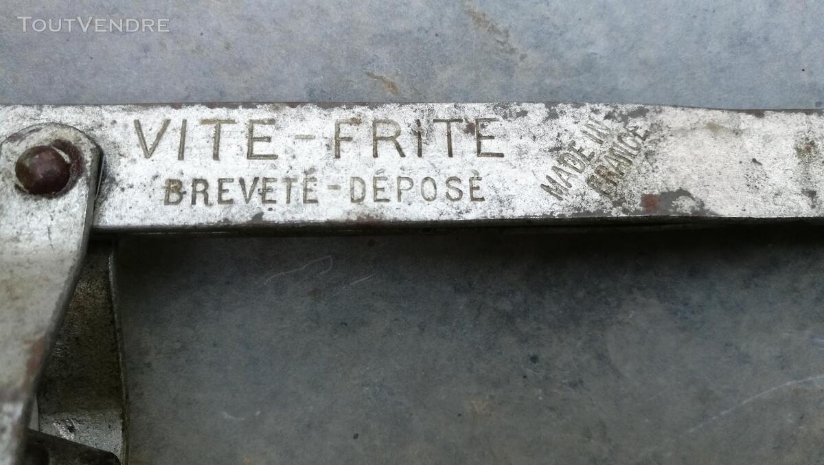Ancien Ustensile Cuisine fer étamé VITE-FRITE suxn 419557267