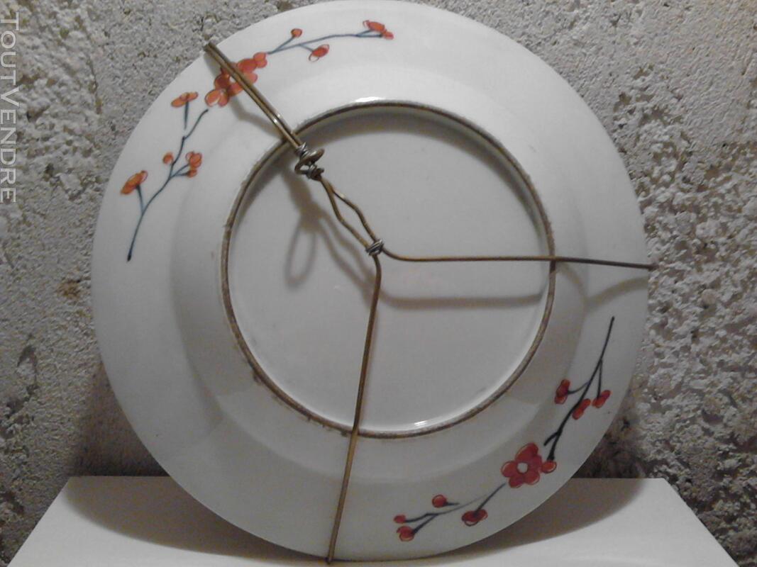 Ancienne Assiette Imari Porcelaine Antiquité suxn 165313060