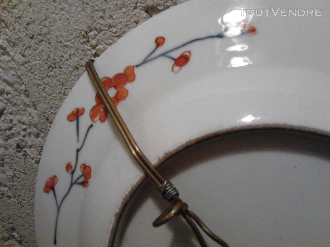 Ancienne Assiette Imari Porcelaine Antiquité suxn 165313066