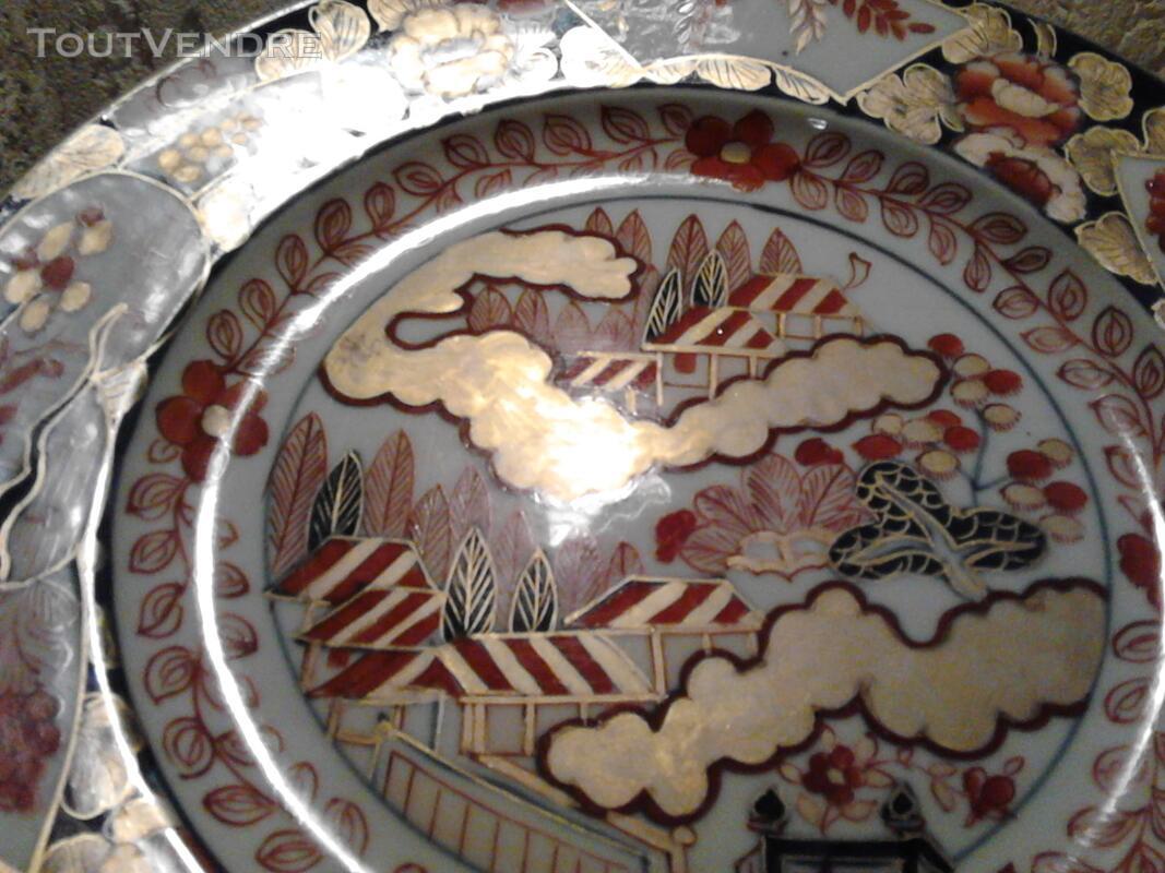 Ancienne Assiette Imari Porcelaine Antiquité suxn 165313087