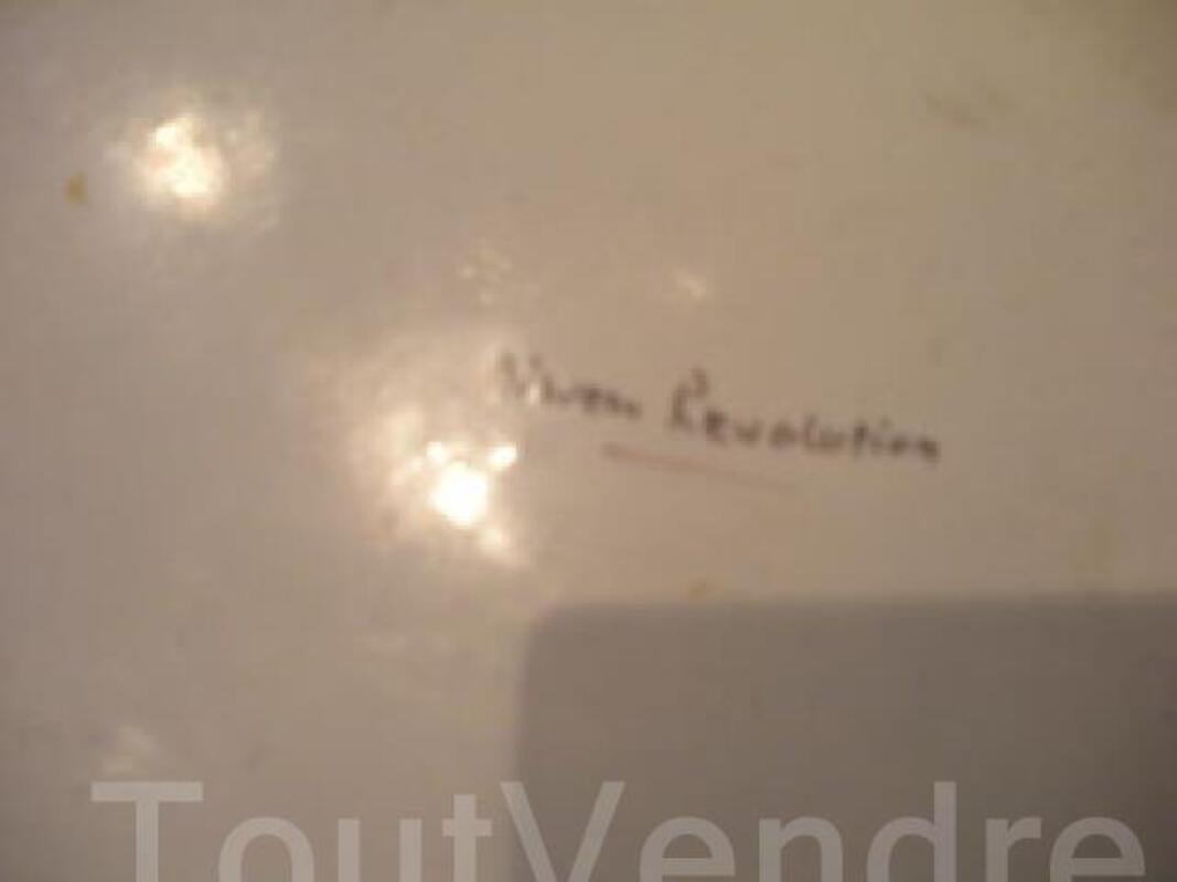 Ancienne assiette NEVERS Révolutionnaire signée 89539212