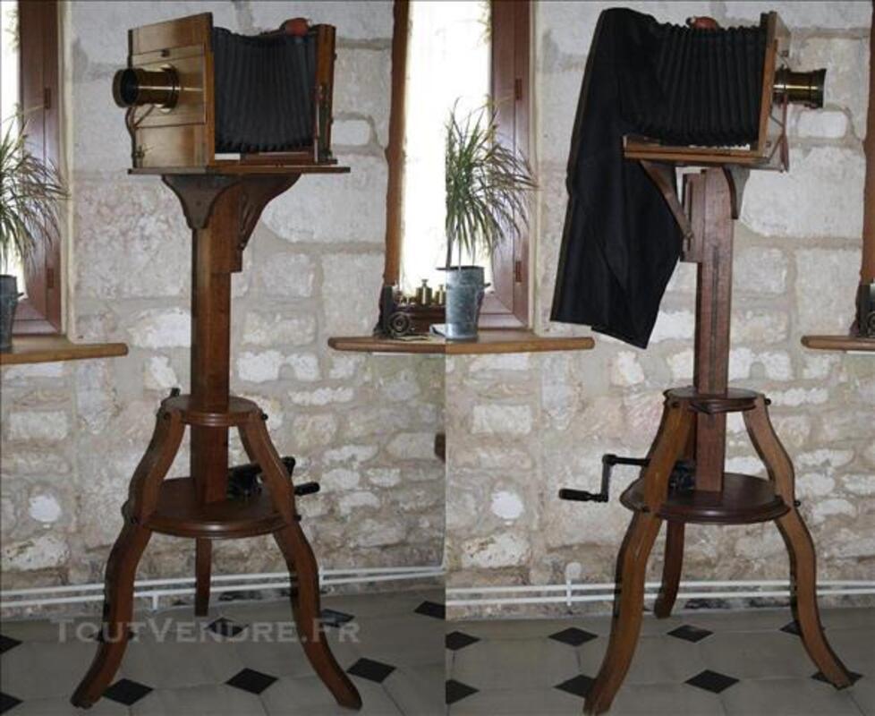 Ancienne chambre photographique d'atelier 1890 Hermagis 77542606