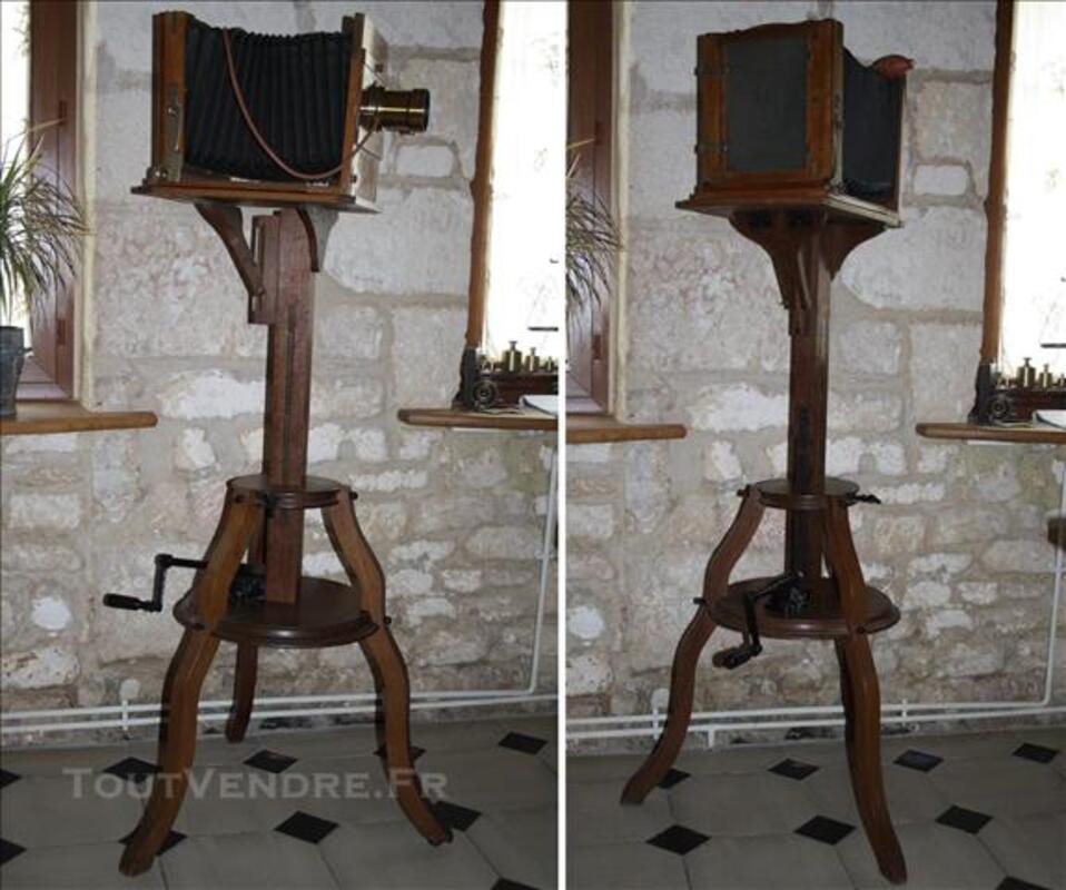 Ancienne chambre photographique d'atelier 1890 Hermagis 77542608