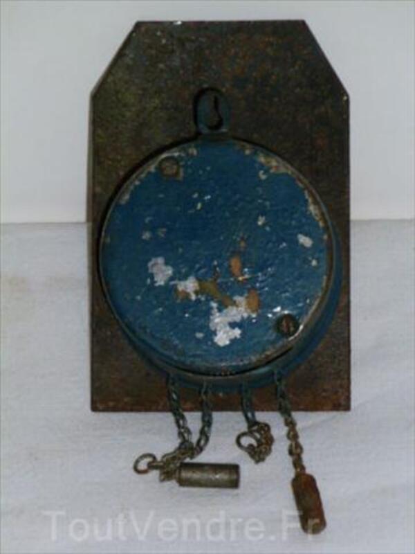Ancienne Horloge Murale  Forêt Noire Emaillée 56470884