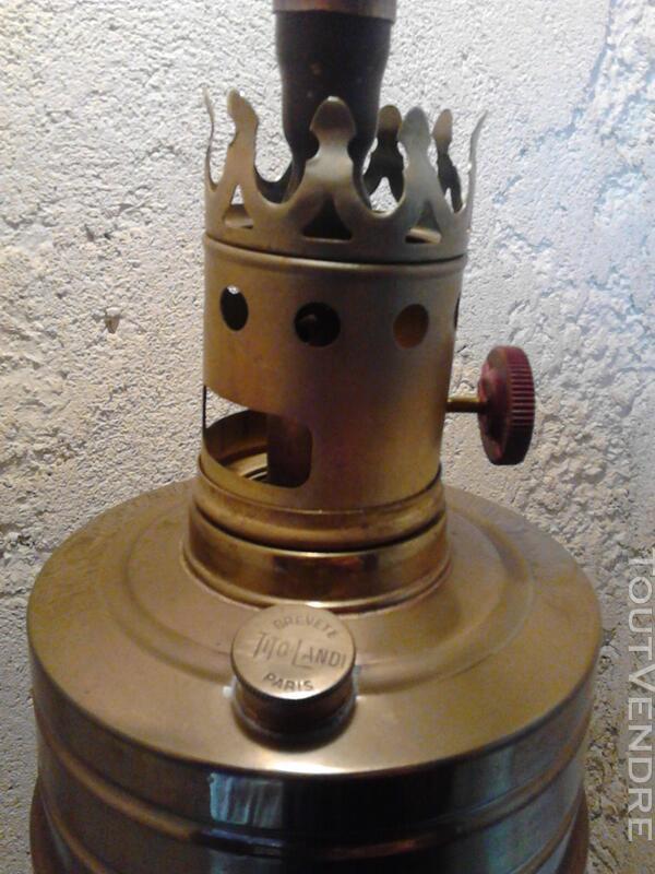 Ancienne Lampe Pétrole/Essence Titus brevet Tito Landi suxn 180522471