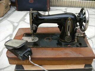 """ANCIENNE MACHINE A COUDRE ELECTRIQUE HOWE """"vintage"""""""