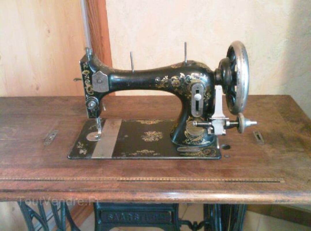 Ancienne machine à coudre GRITZNER 90861888